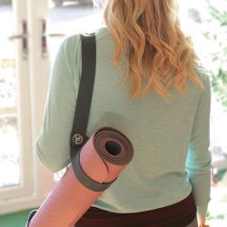 Yoga bag carry strap